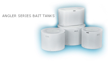 angler series bait tanks